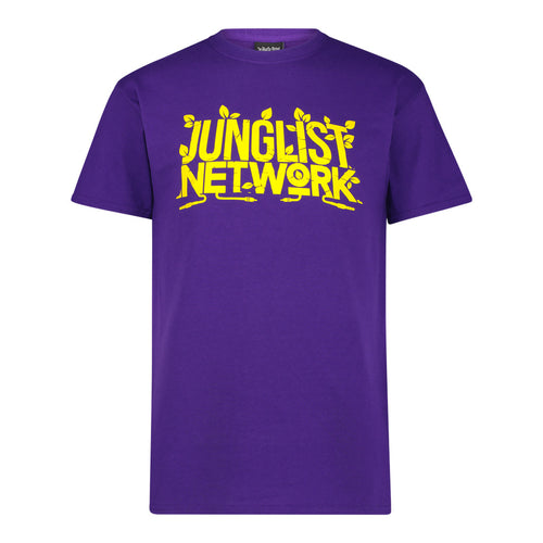 Purple Junglist Network t-shirt