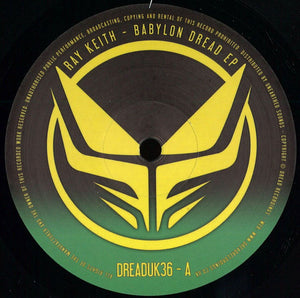 "Ray Keith ‎– Babylon Dread EP - Double 12"" Vinyl"