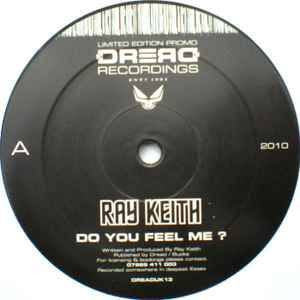"Ray Keith vs Dark Soldier - Do You Feel Me EP - 12"" vinyl"