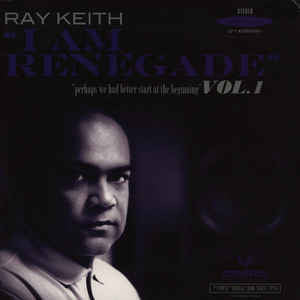 Ray Keith - I am Renegade - 5 Vinyl EP