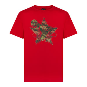 Red Junglist Revolution Tee