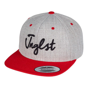 Natural red and grey jnglst cap