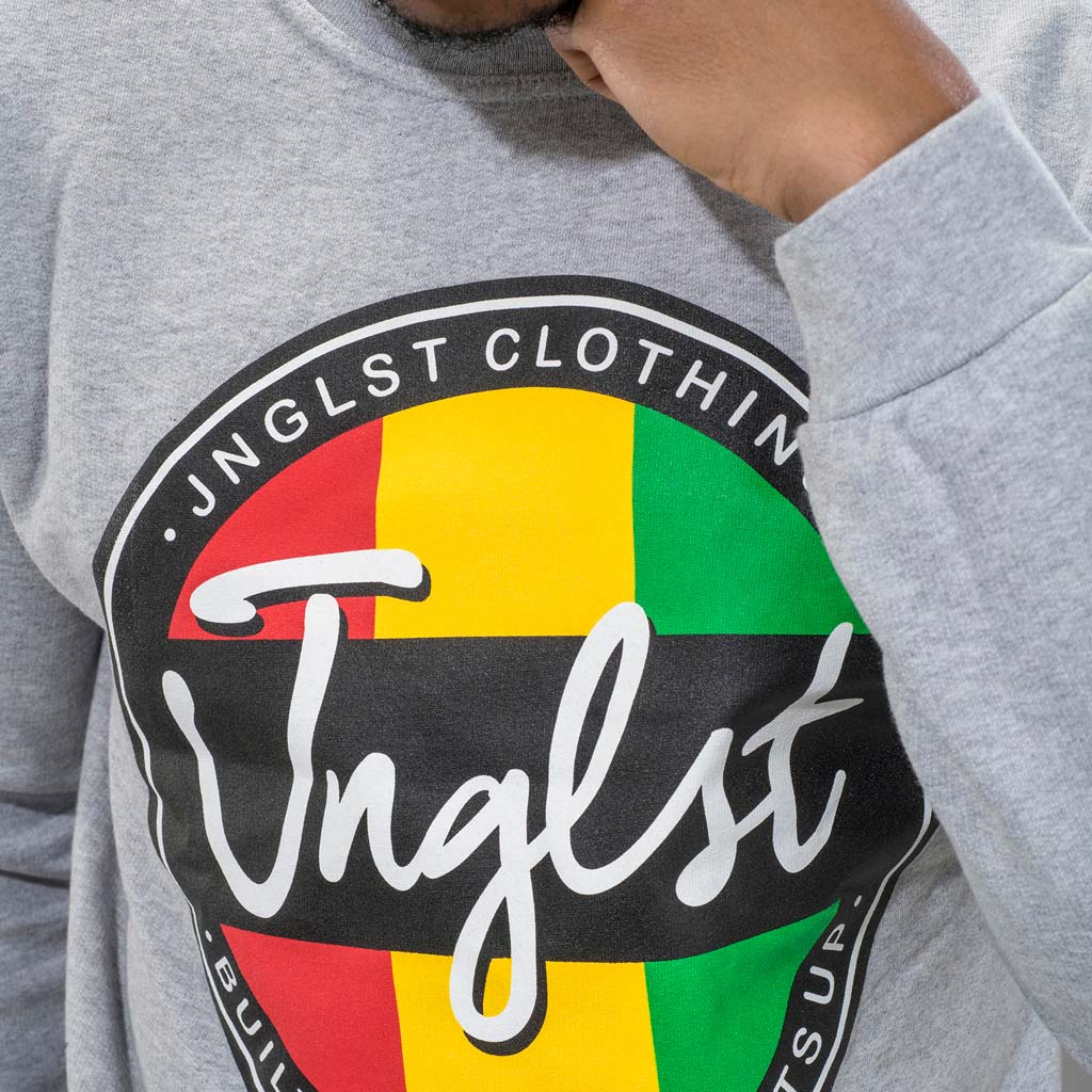 Junglist Clothing Roots up design close up