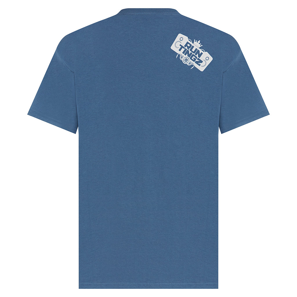Run Tingz T-Shirt blue
