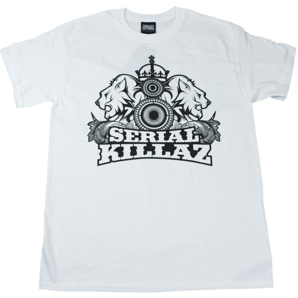Serial Killaz White mens t-shirt