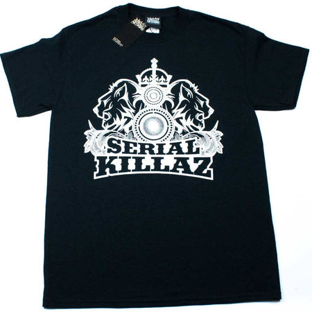 Serial Killaz Ltd Edition Black and Gold T-Shirt