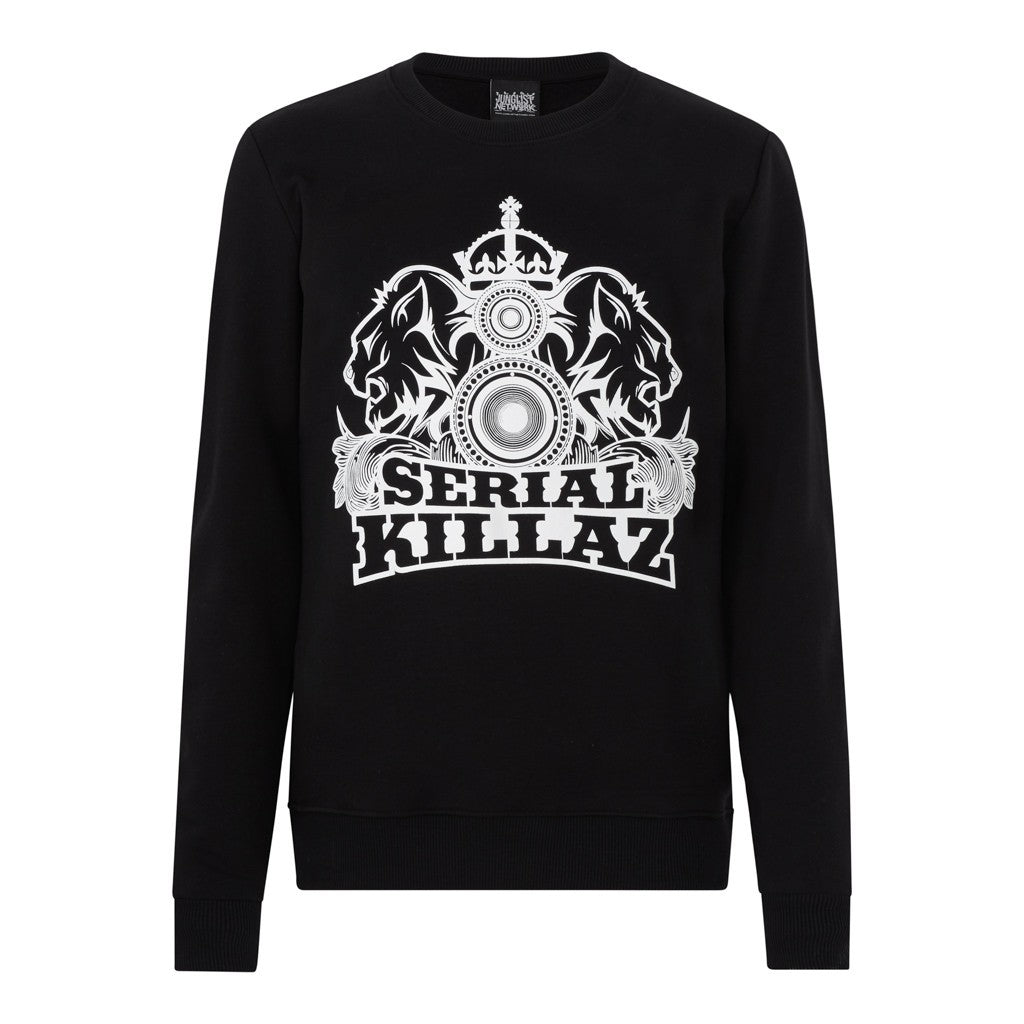 Black Serial Killaz Sweatshirt
