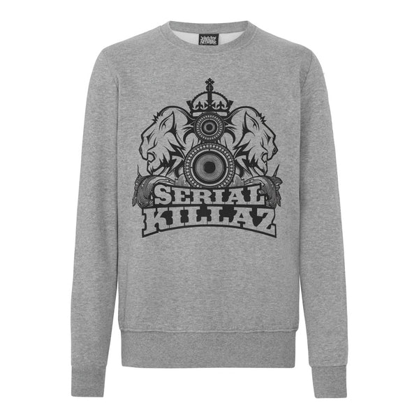 Grey Serial Killaz Sweatshirt