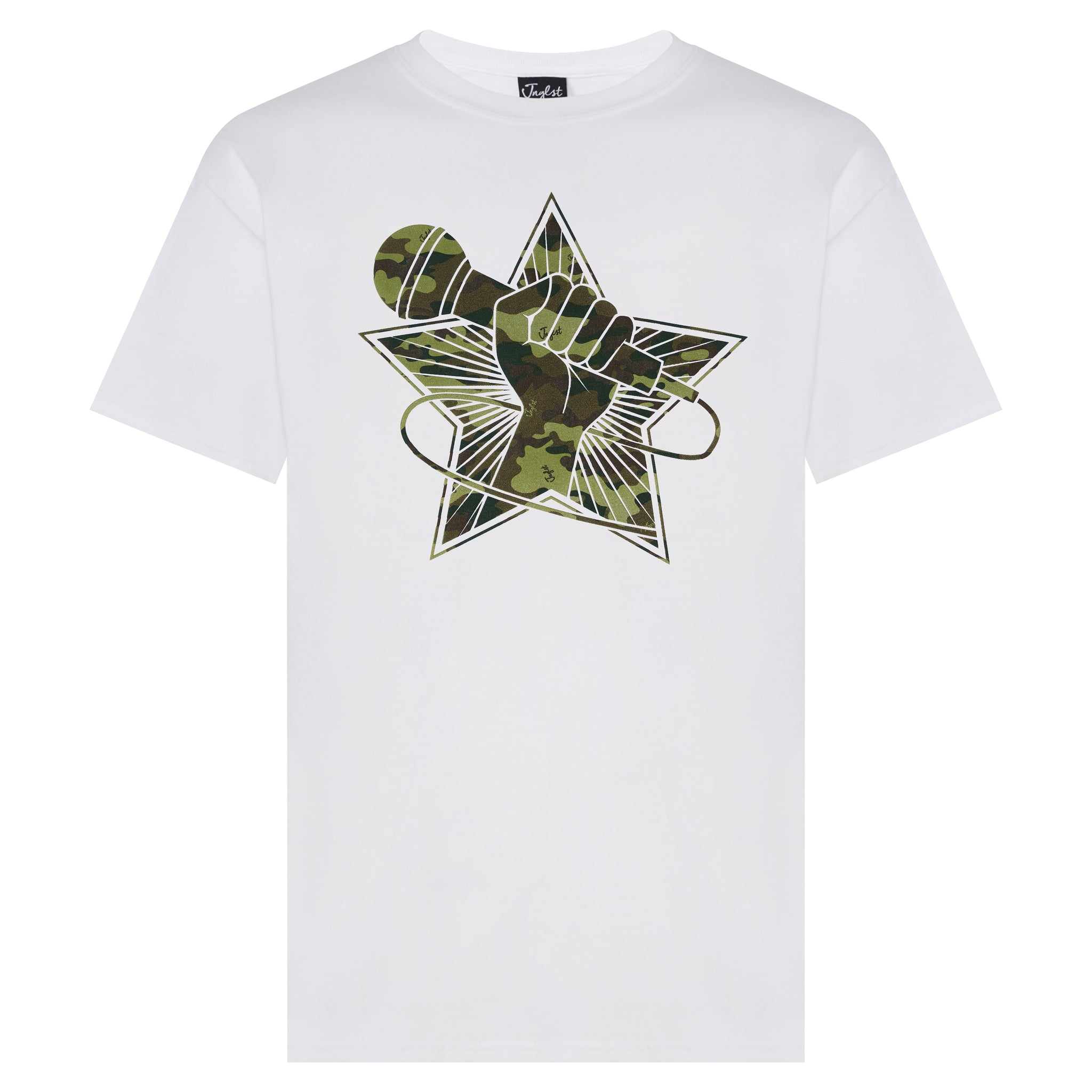 White Jungle Revolution t-shirt