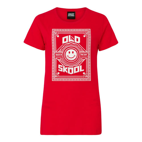 Red Old Skool Top