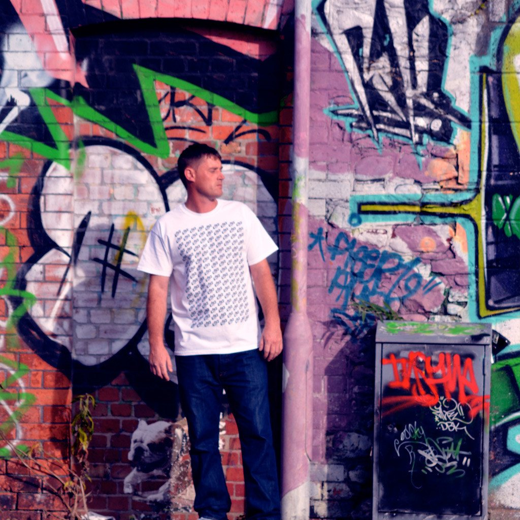 Walshy Selecta in White Block T-Shirt