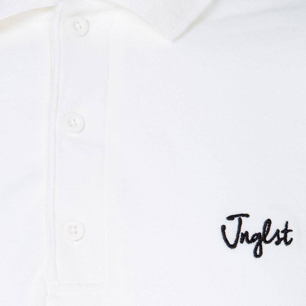 White Polo Shirt Junglist