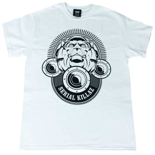 White Serial Killaz Lion Tee