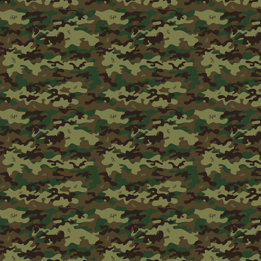 Sheet of Camo Wrapping Paper