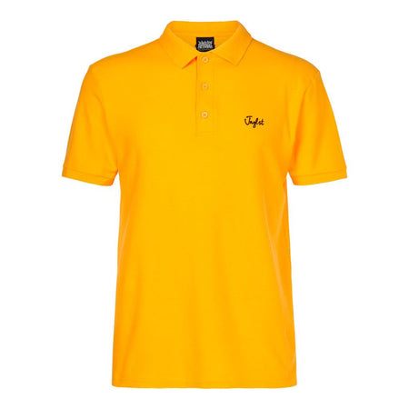Black Polo Shirt with yellow detail