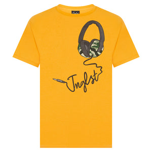 Gold Jnglst Headphones