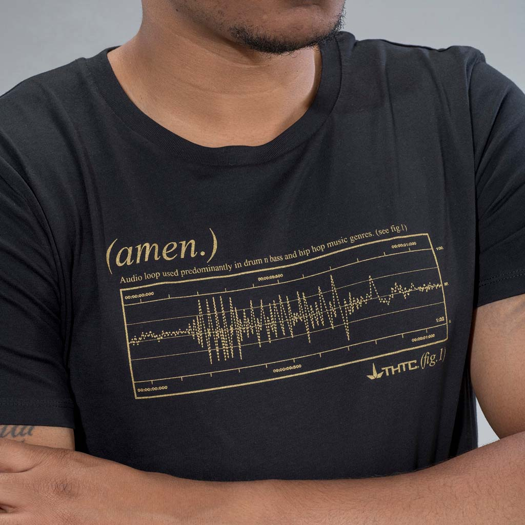 Gold Amen Break T-Shirt from THTC