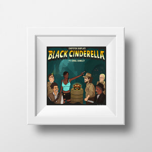 Black Cinderella Chopstick Dubplate Artwork