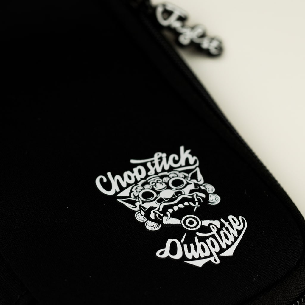 Black USB Stick Pouch from Chopstick Dubplate