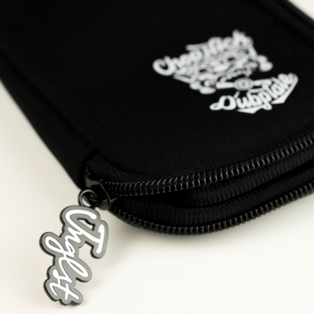 Black USB Stick Pouch for DJs