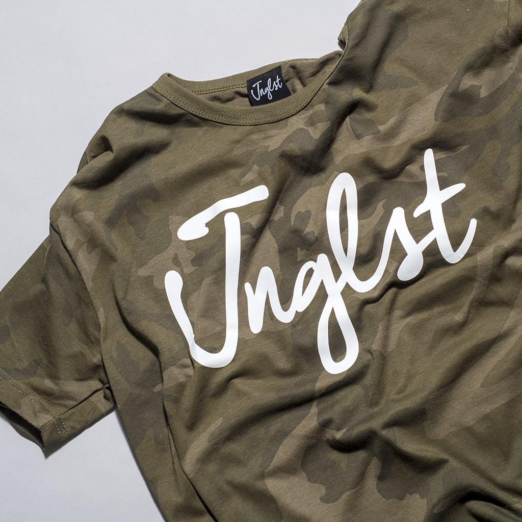 Olive Green T Shirt for the Junglist Massive