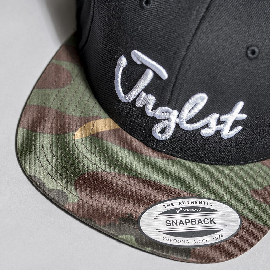 Camo Peak on Junglist Snapback