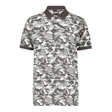 Black and White Camo Polo
