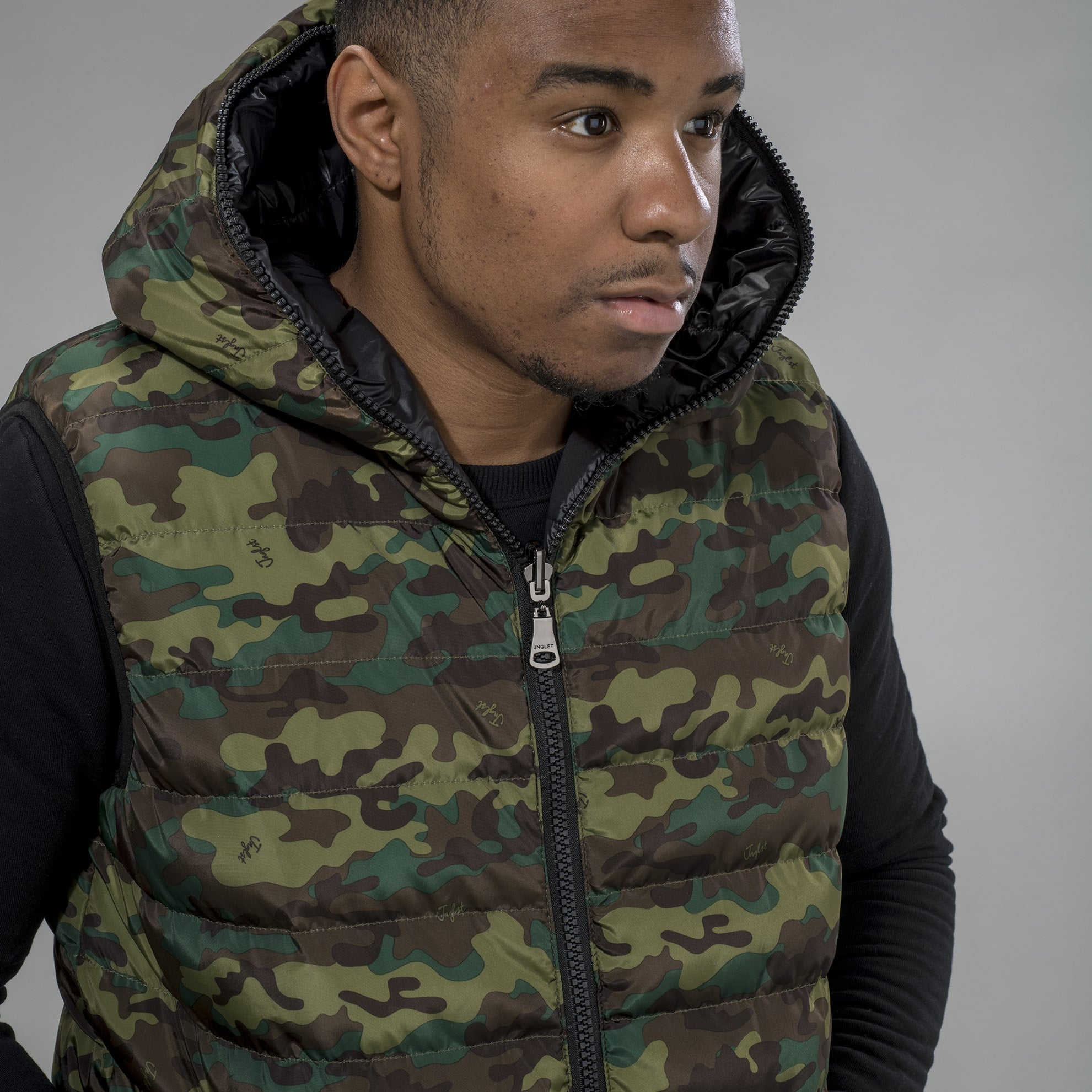 Camo Reversible Body Warmer