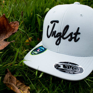 Grey Junglist cap with Curved Visor