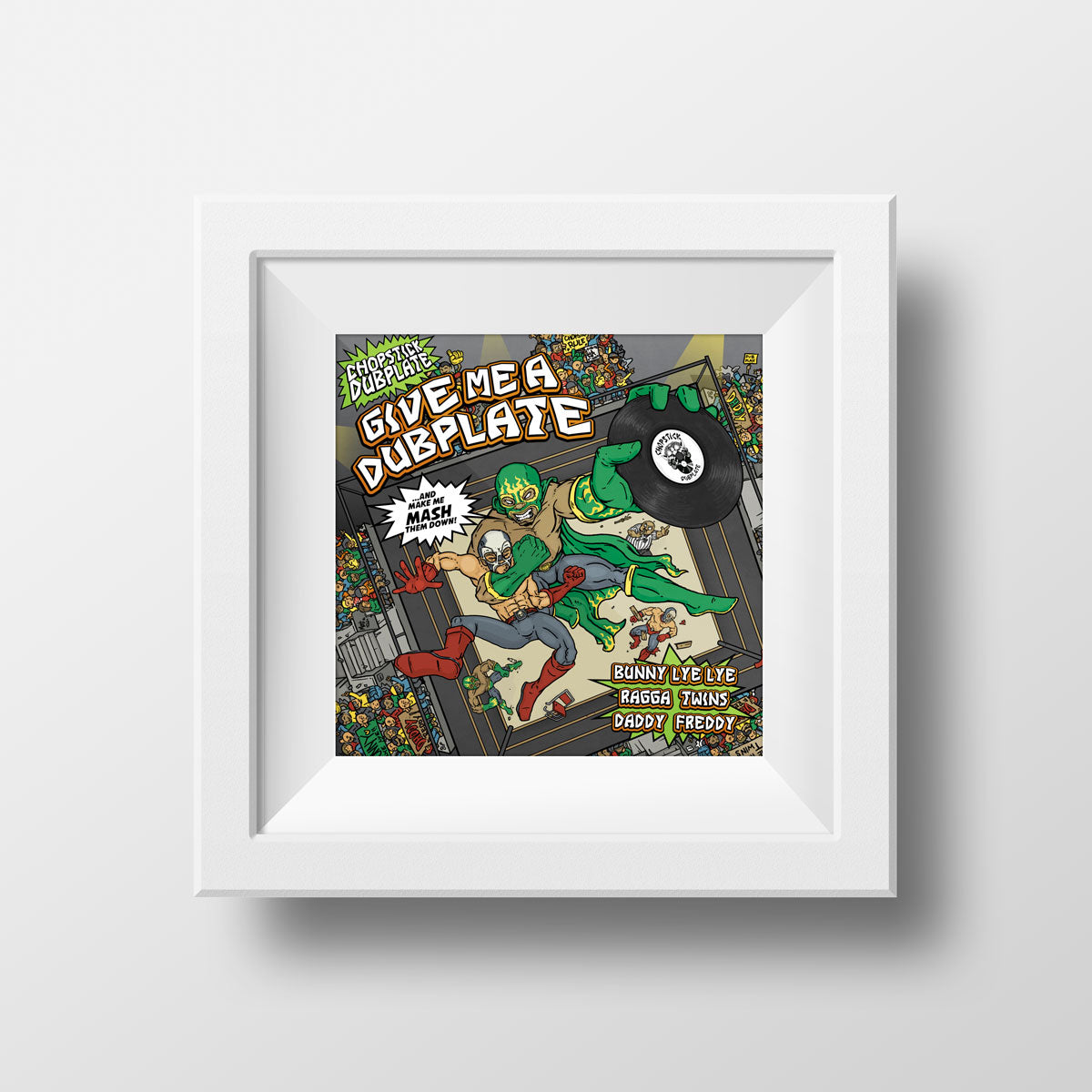 Give me a Dubplate Art Print by Chopstick Dubplate