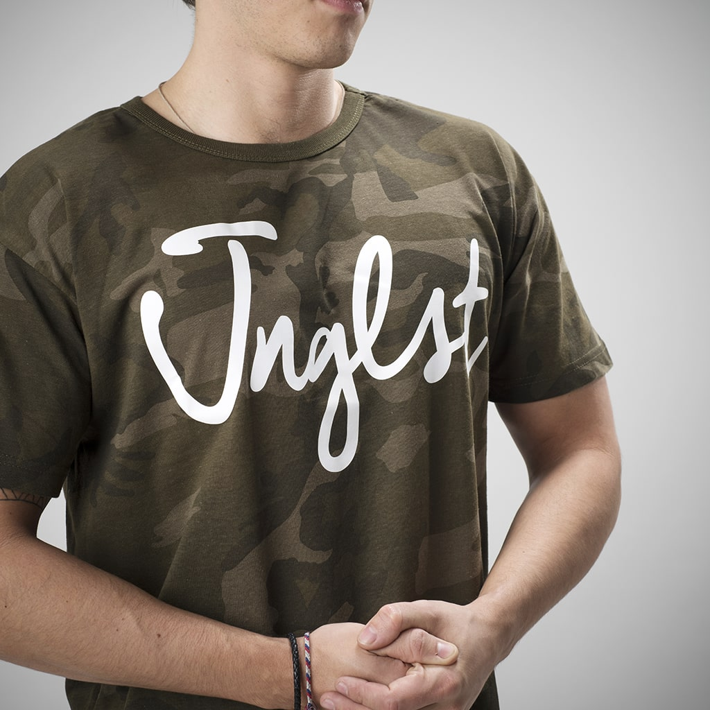Olive Green Junglist T Shirt for Drum and Bass Ravers