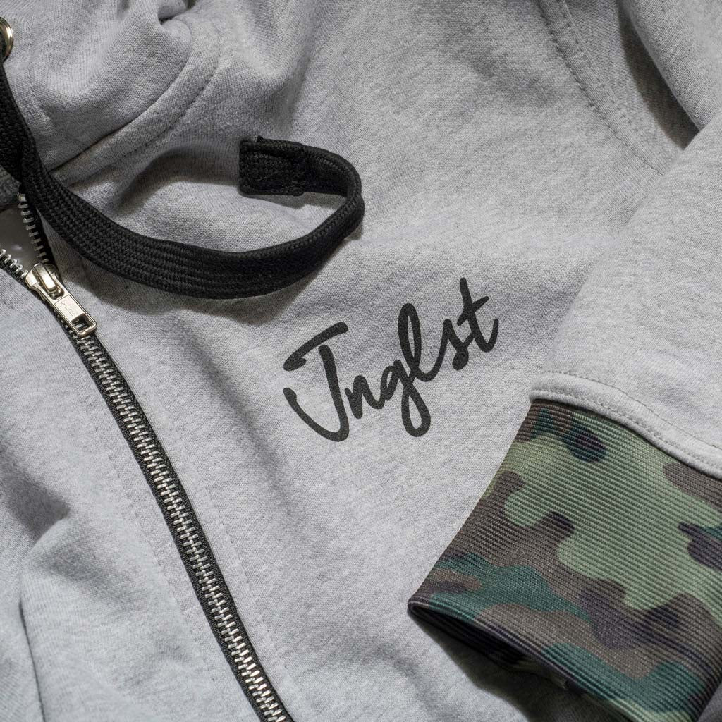 Jnglst King Hoodies with Camo Detail