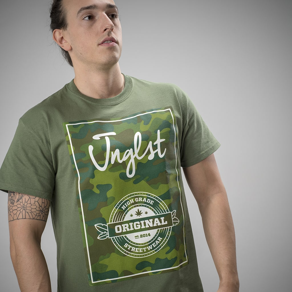Highgrade Jnglst Green T-Shirt