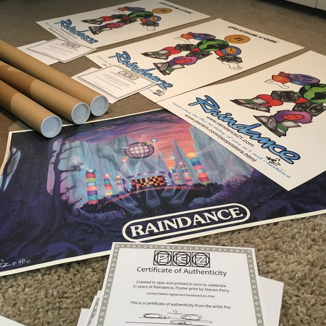 PEZ Artwork and certificates