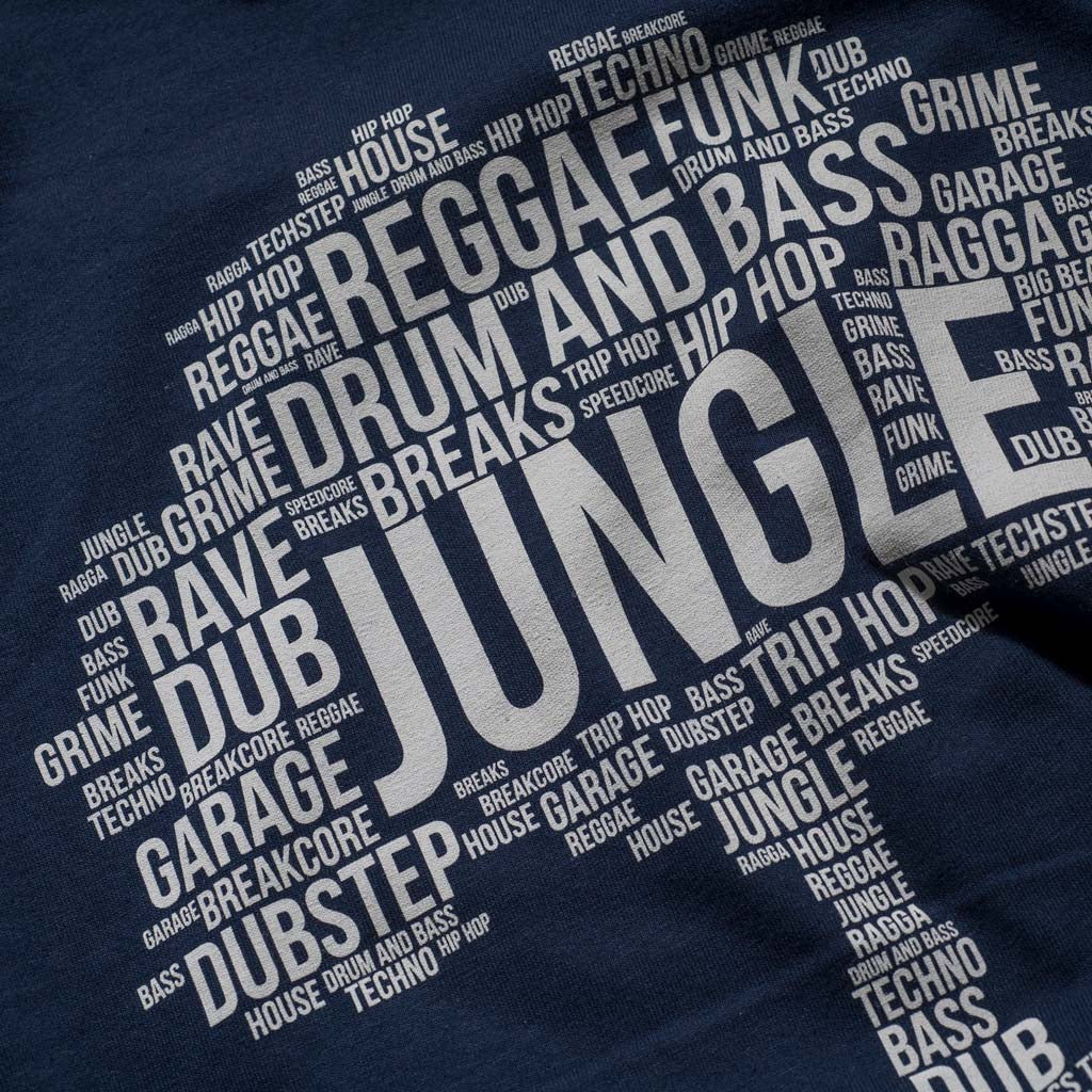 Navy Junglist Roots Close Up