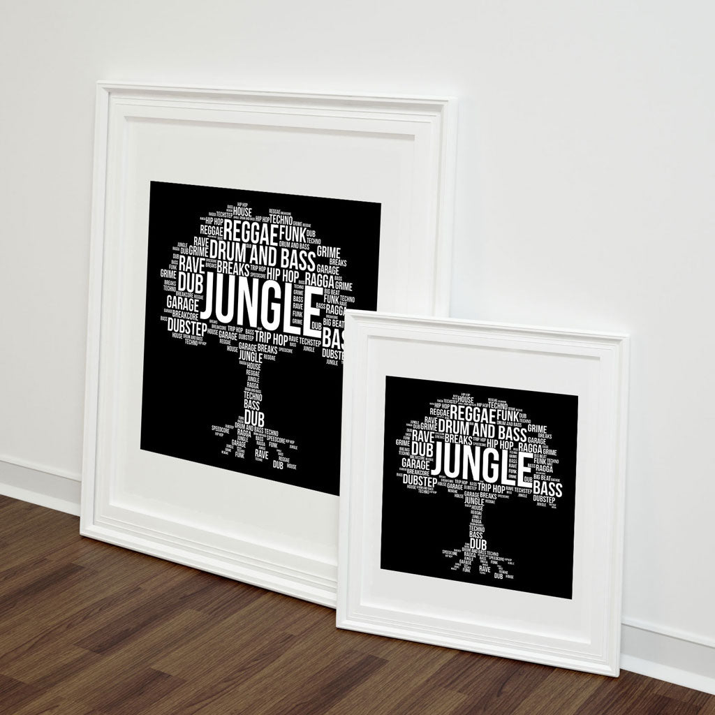 Junglist Roots Art Print