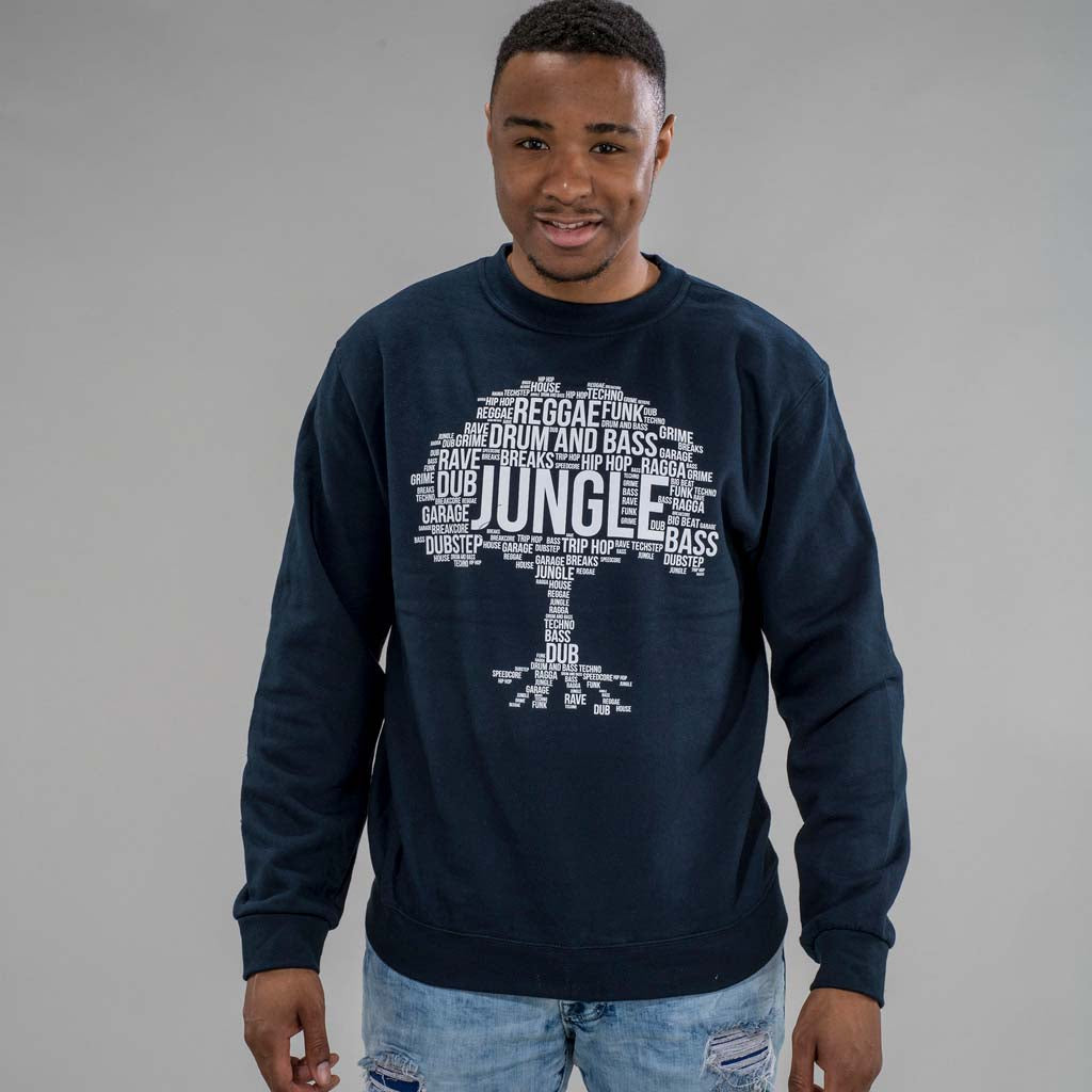 Navy Jungle Roots Sweatshirt