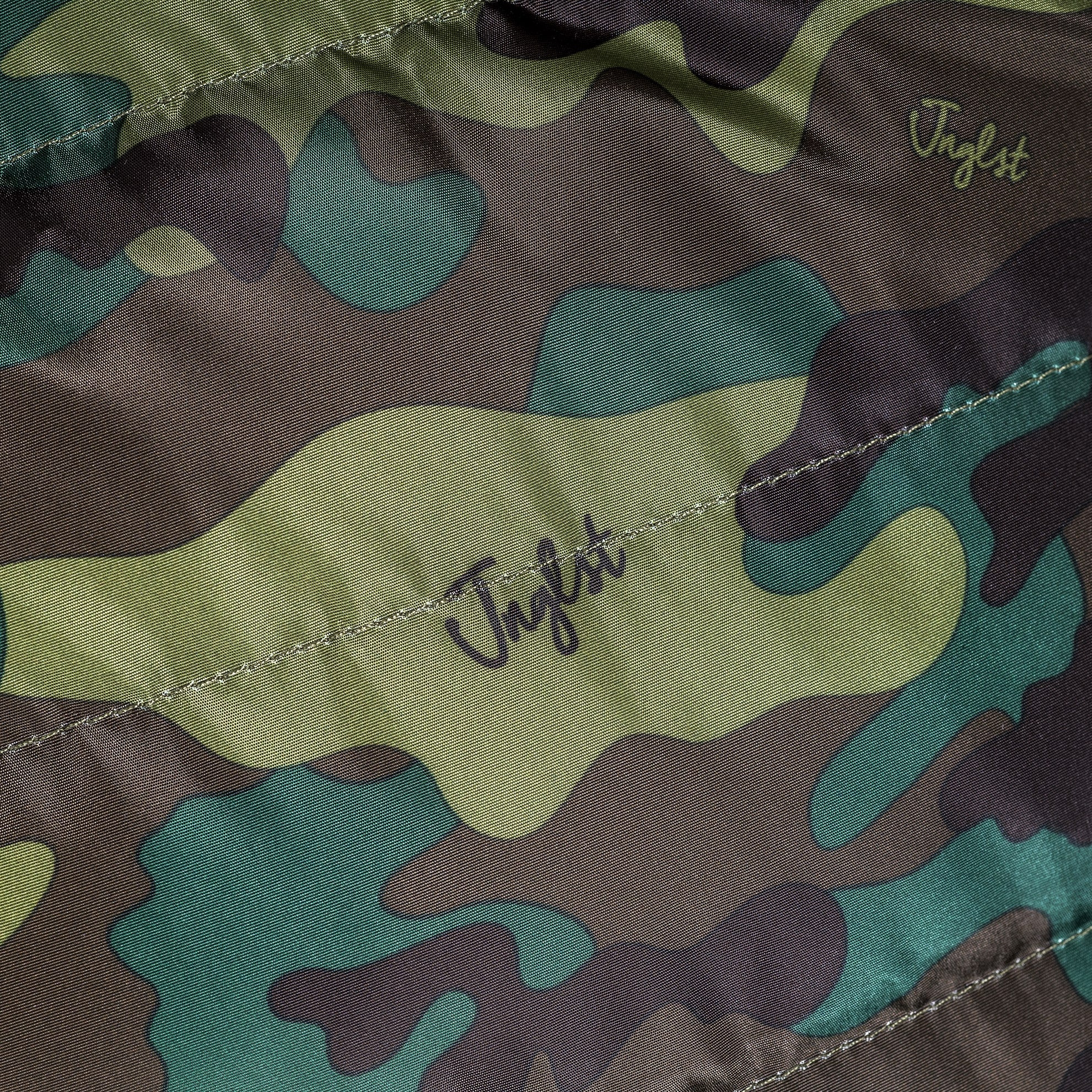 Waterproof Fabric on our Camo Body Warmer