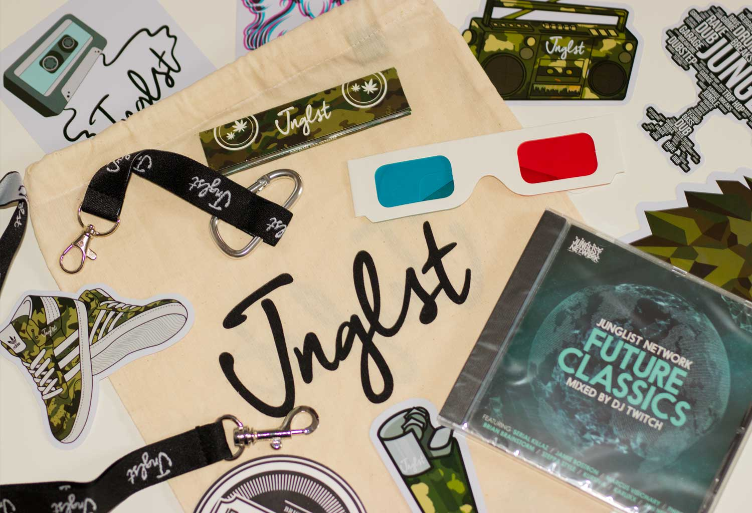 Junglist Network Goody Bag
