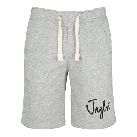 Grey Jnglst Joggers with Camo Detail