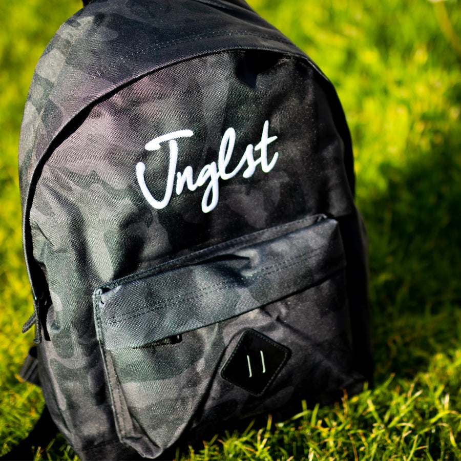 Midnight Camo Junglist Backpack for Jungle Ravers
