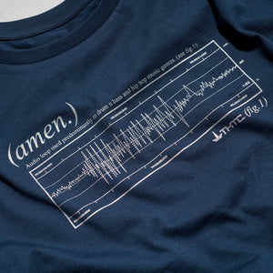 THTC's Amen Break T Shirt in Navy