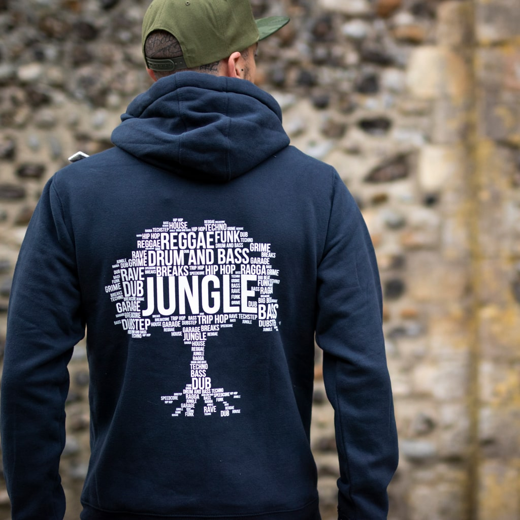 Rave Inspired Clothing from Jungle to Drum and Bass and Reggae