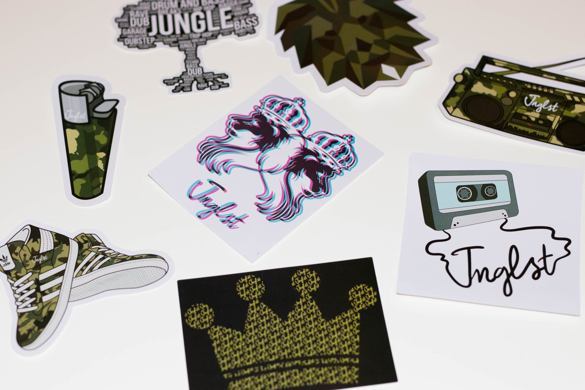 Jnglst Sticker Pack for 1p