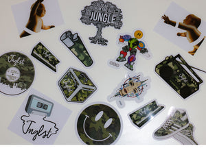 Junglist Mixed Sticker Pack