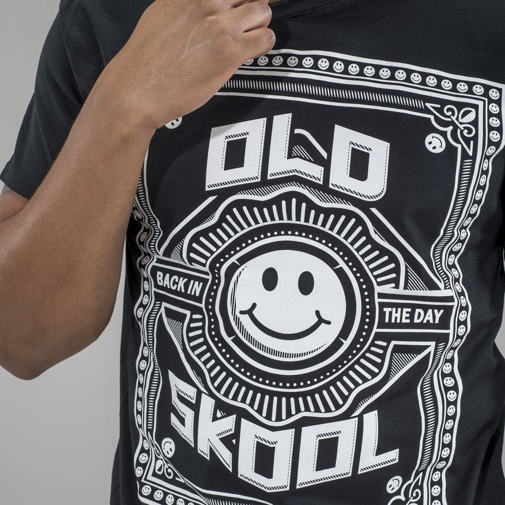 Old Skool Junglist T-Shirt Close up