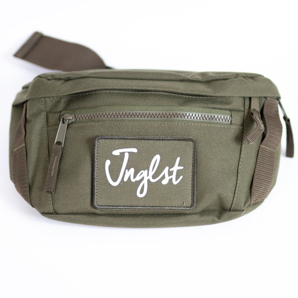 Junglist Raver Utility Bag in Olive Green by Junglist Network