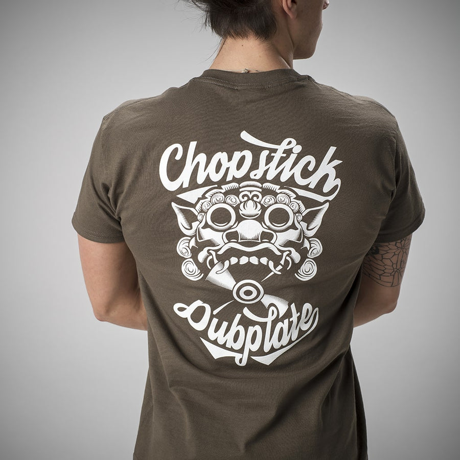 Olive Chopstick Dubplate T Shirt