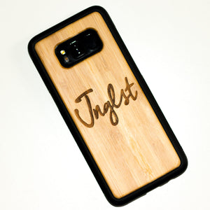 Samsung S8 Bamboo Phone Case