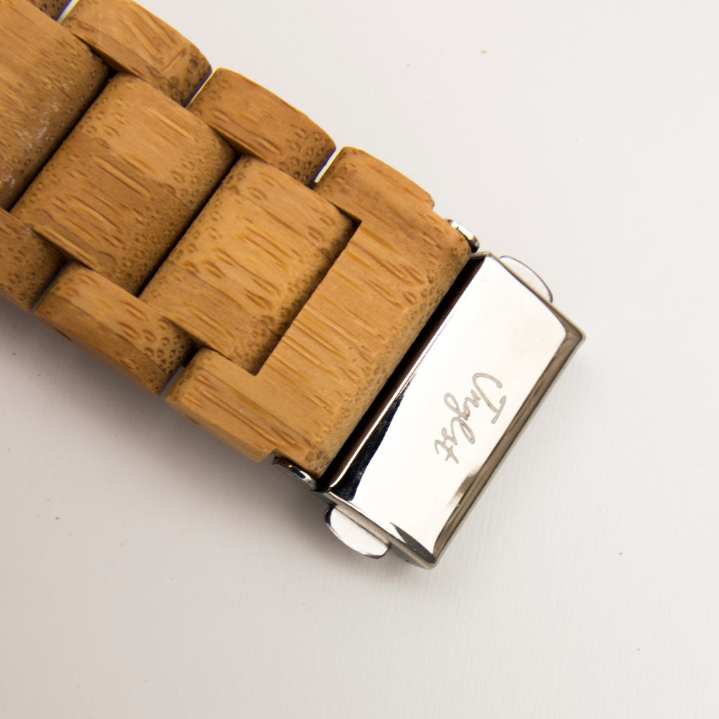 Bamboo Jnglst Watch strap